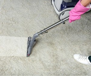 Cleaning A Dirty Carpet